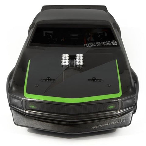 HPI 112619 RS4 3 Evo+ with 1969 Mustang Body RTR-X Nitro