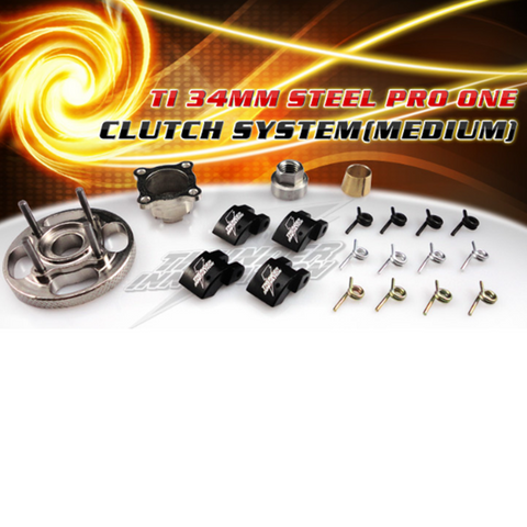Clutch System 34mm Steel Pro One (Medium)