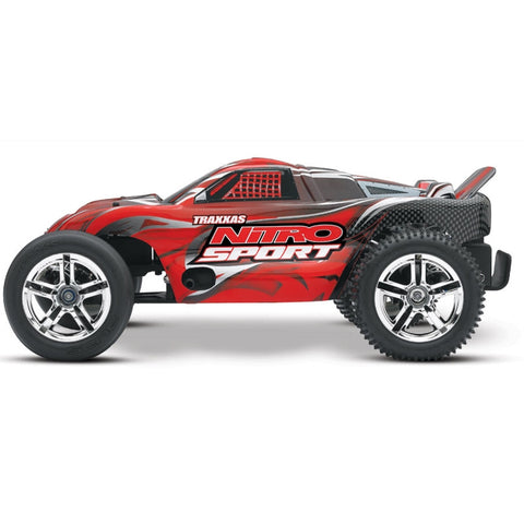 Traxxas 4510 Nitro Sport ASSB with Radio