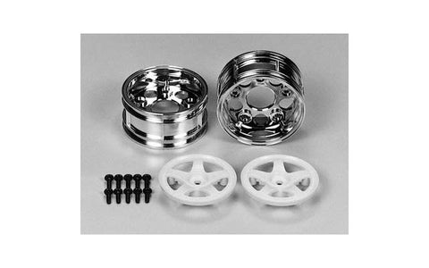 Tam 50672 5-Spoke 2-Piece Wheels (1 Pair)