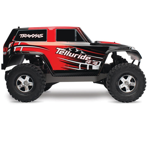 TRAXXAS 67044-1 Telluride 4X4 Electric Monster Truck Brushed !