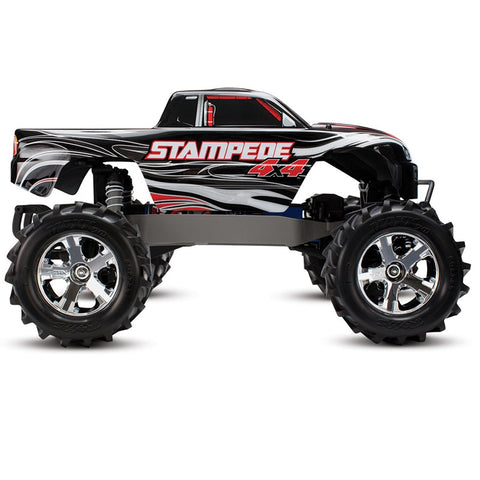 TRAXXAS 67054-1 Stampede 4X4 Monster Truck Brushed !