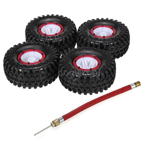 Wheels & Tyres Air Pneumatic Beadlock Wheels for RC Truck (4)