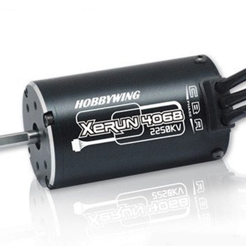 Motor 4068 SD Brushless Sensored 2250kv Xerun