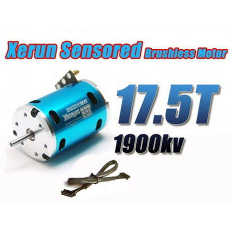 Motor 3650 SD Justock Brushless Sensored 17.5 T Motor