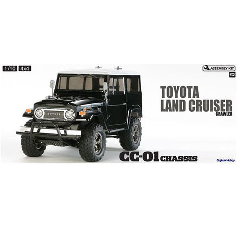 RC Rock Crawler Toyota Land Cruiser 40 (CC01) TAM 58564 COMBO RTR