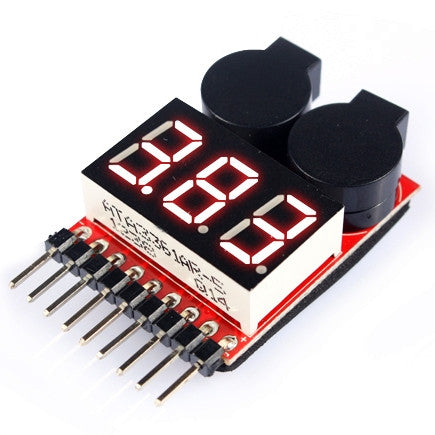 Battery Accessory Alarm  & Voltage Meter