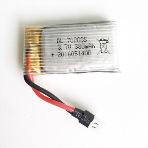 RC Drone Battery 380mah 3.7v 20c