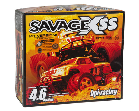 HPI 861 Savage X SS 4.6 KIT !!