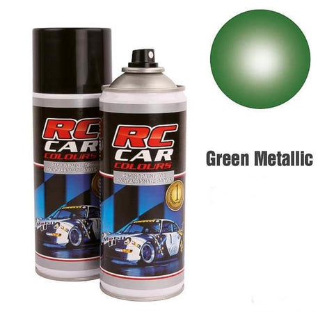 Spray Paint Metalic Green 150ml Ghiant 934