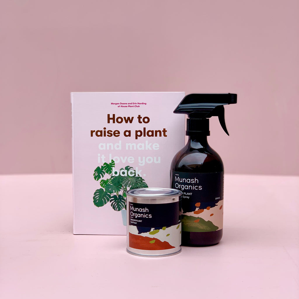 How to Raise a Plant Book + Munash Fertilizer Bundle