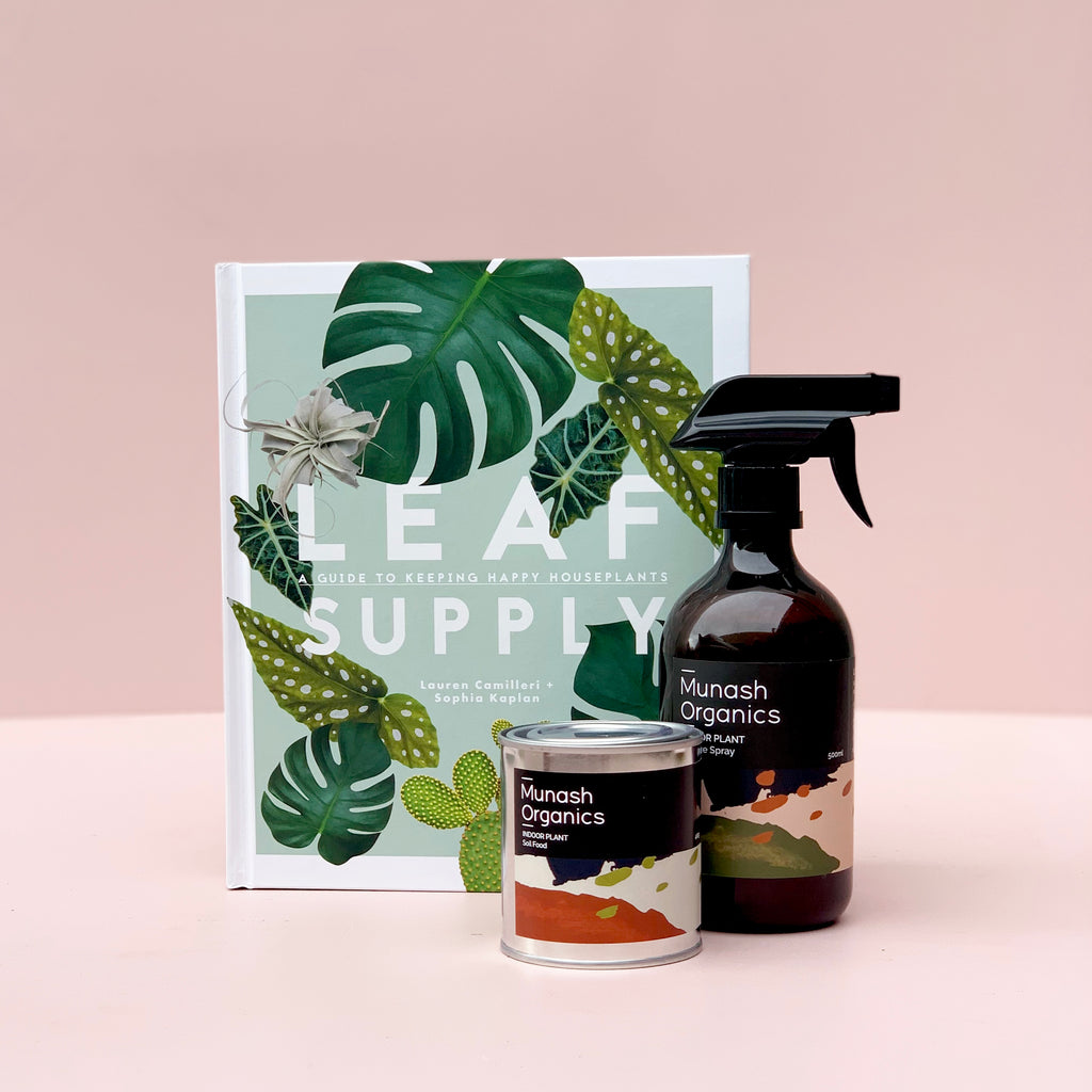 Leaf Supply Book + Munash Fertilizer Bundle