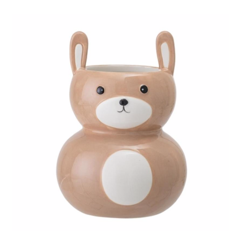 Animal Rabbit Pot / Orange