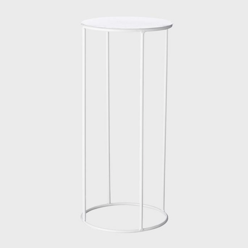 Lotus Pot Stand Medium / White