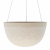White Water Bead Hanging Planter Large