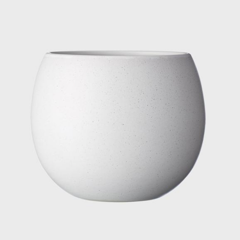 Bower Pot Medium / White