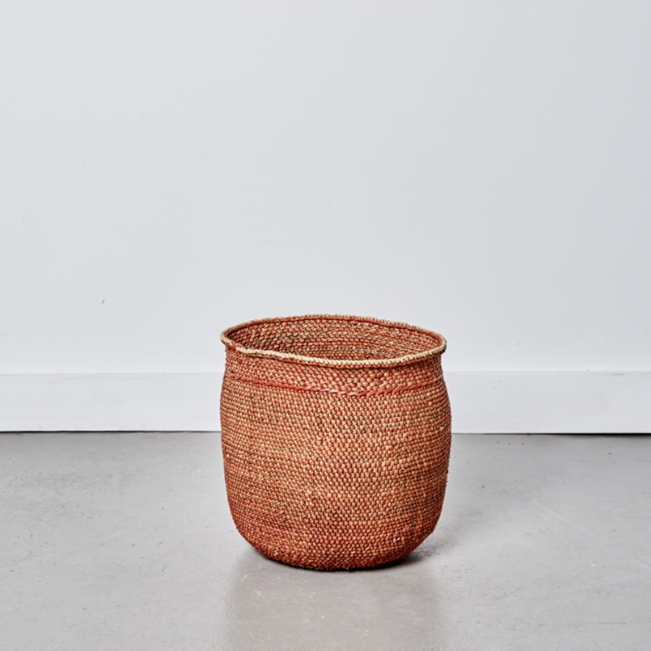 Sondu Basket Small / Terracotta