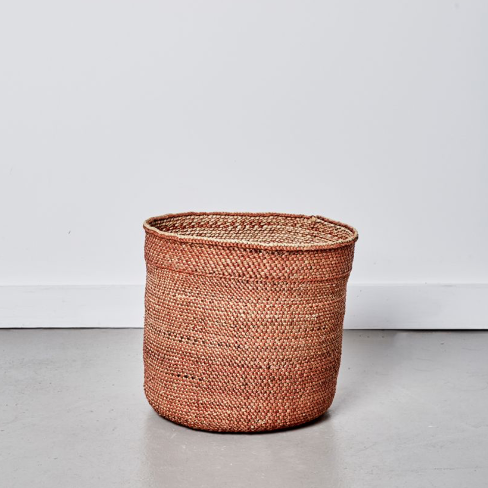 Sondu Basket Medium / Terracotta