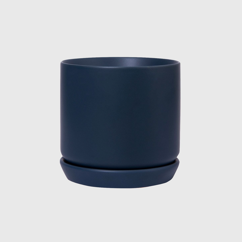 Oslo Planter Medium / Muted Navy