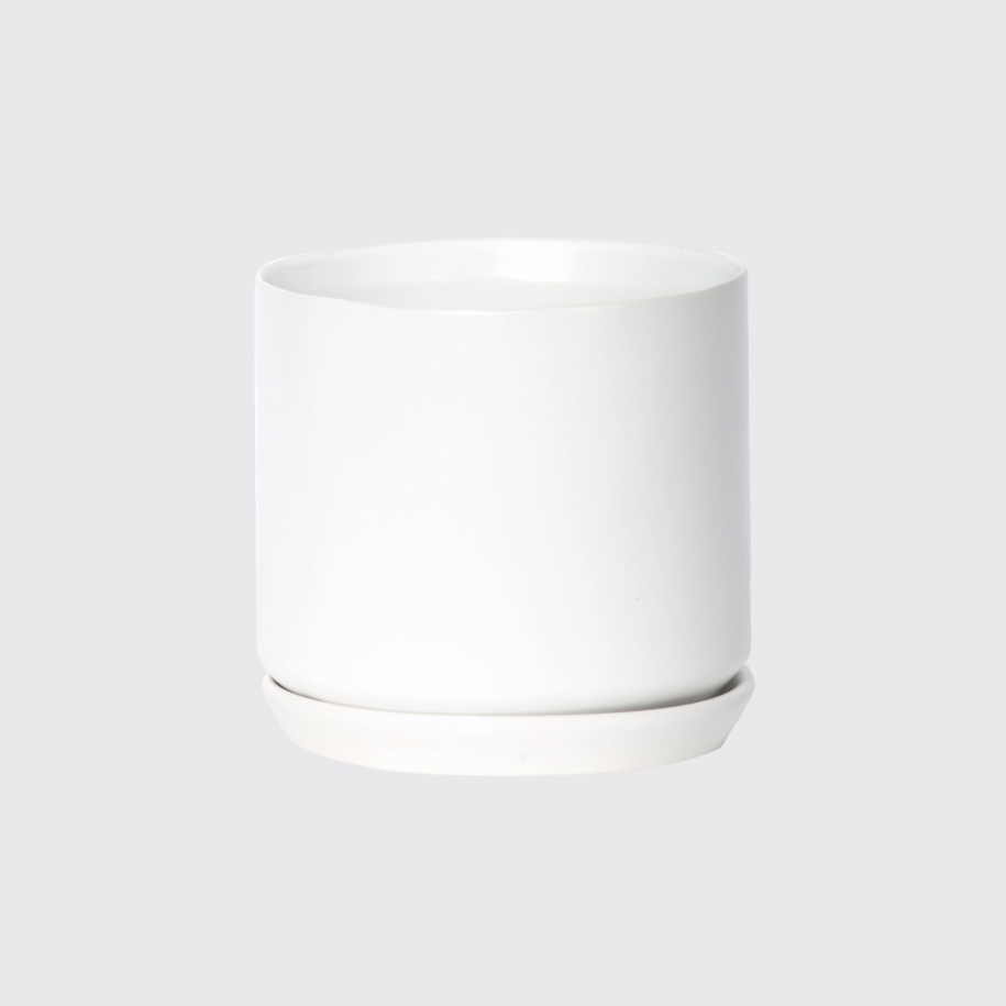 Oslo Planter Medium / White