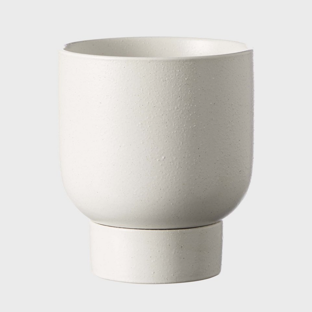 Finch Pot Medium / Soft White