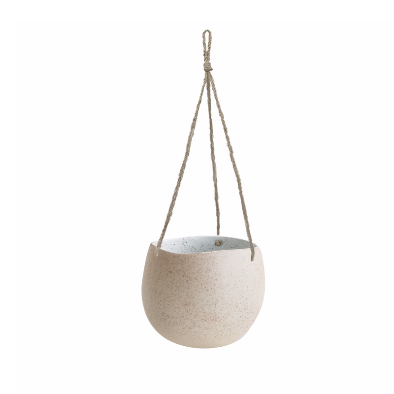 Hanging Planter Small White