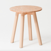 Enkel Marble Table / Powder