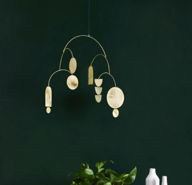 Juno + Ace Cosmos Brass Hanging Mobile