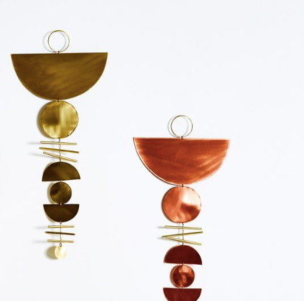 Juno + Ace Phases Brass Wall Hanging