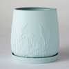 Relief Plant Pot / Peppermint (Angus & Celeste)