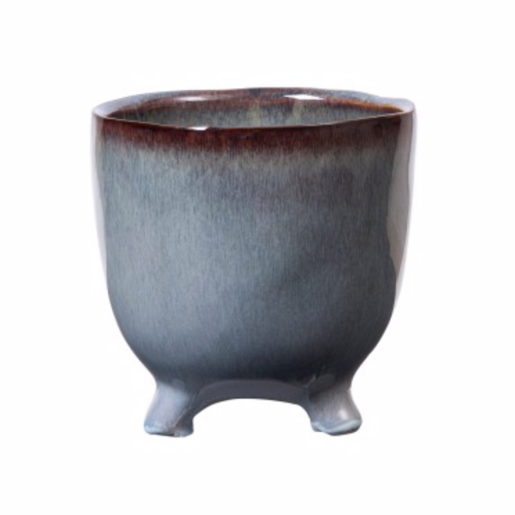 Mio Footed Plant Pot (Zest)