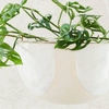 Riverstone Hanging Planter Small / White Half Moon (Angus & Celeste)