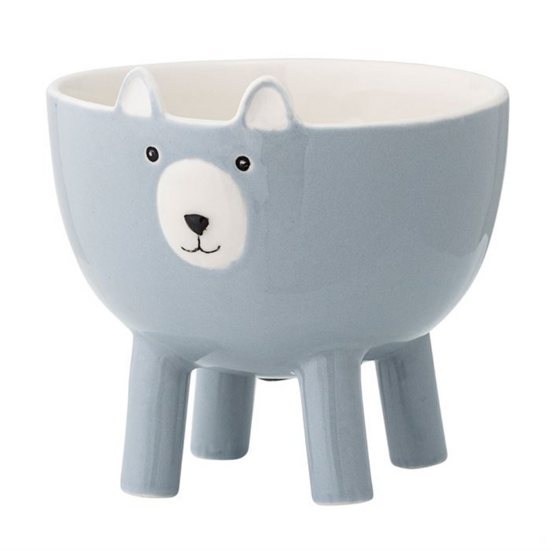 Animal Planter Large / Blue (Bloomingville)