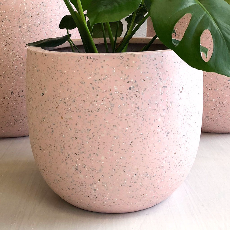 Liberty Pot Large / Rose Terrazzo (On the Side)
