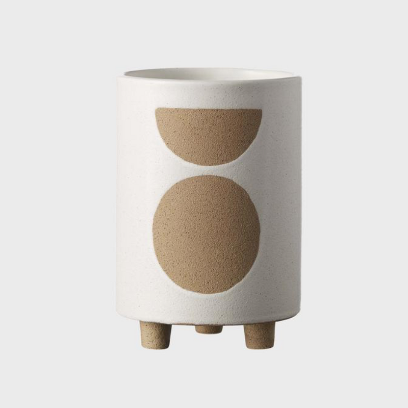 Birch Pot Tall / Chalk (Evergreen Collective)
