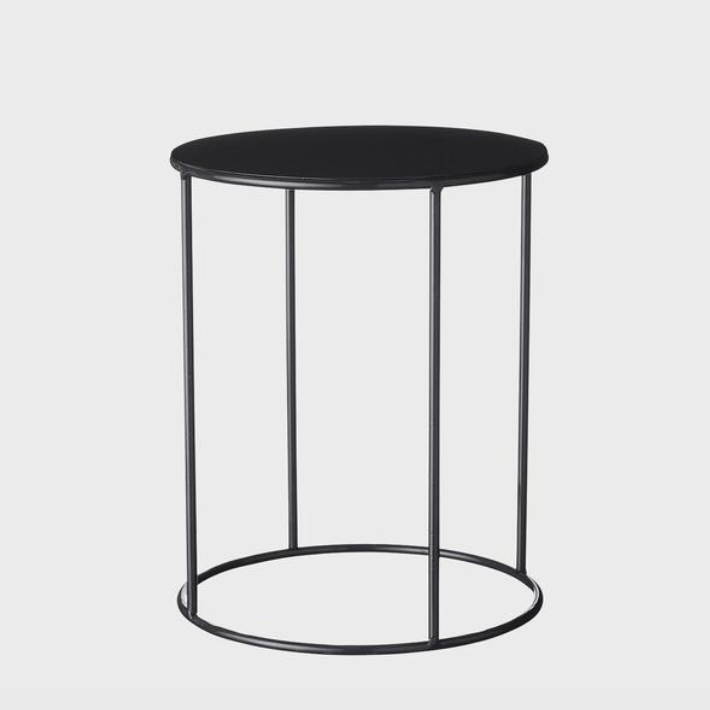 Lotus Pot Stand Short / Black