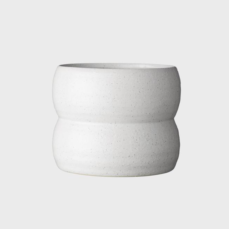 Luna Pot Small / Soft White