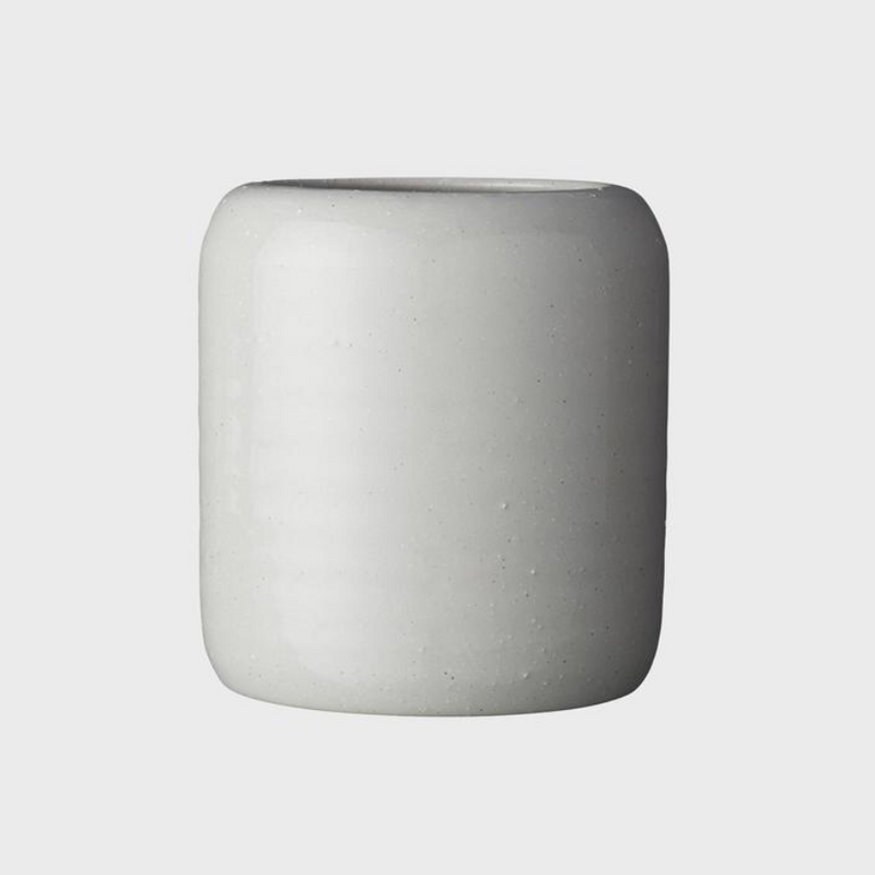 Luna Pot Medium / Light Grey