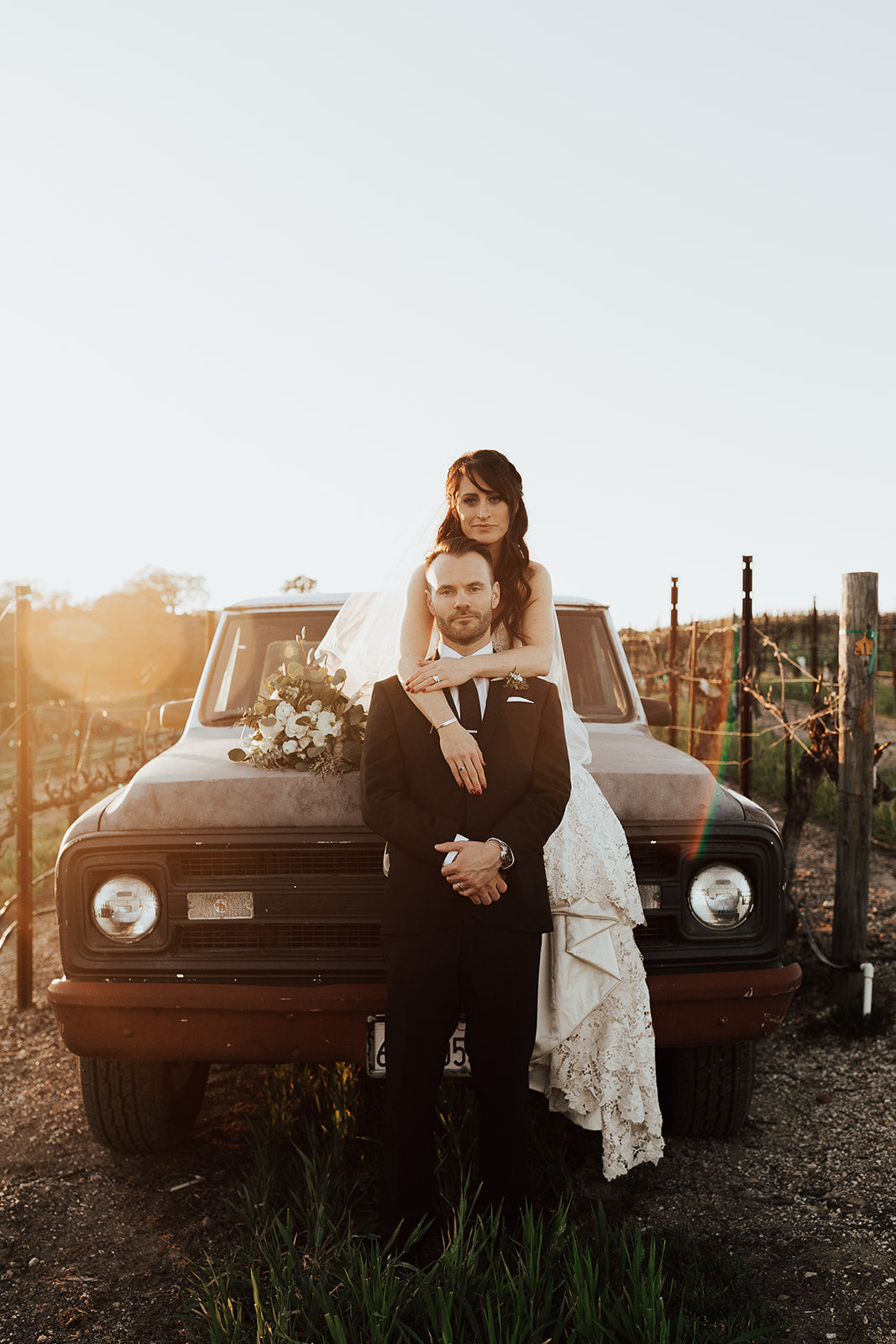 Briannan + Robby's Vineyard Wedding