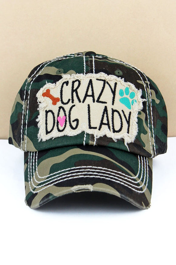 Crazy Dog Lady Adjustable Hat