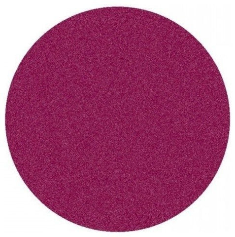 Solid Color Area Rug Round-Cranberry