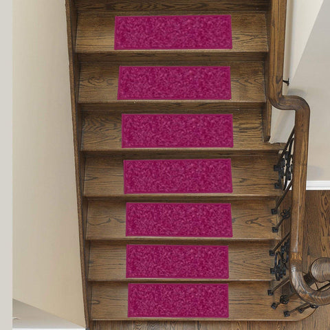 Solid-Color-Area-Rug-Stair-Treads-Cranberry
