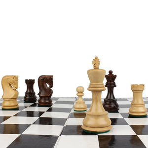 Furnish My Place Boxwood and Rose Wood Chessmen Classic Staunton