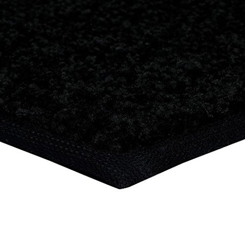 Bright House Solid Color Black 3' Round - Area Rug