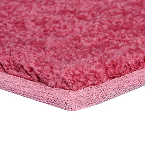 Bright House Solid Color Pink 3' Round - Area Rug