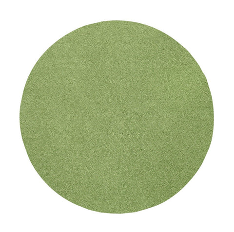 Bright House Solid Color Lime Green 3' Round - Area Rug