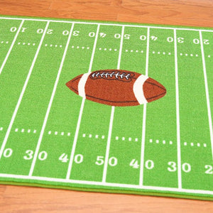 All Stars Football Ground Kids Rug