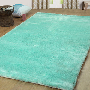 Silken Boston Collection Shag Area Rug