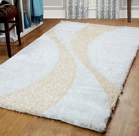 Maple Home Bella Collection Silken Shag Area Rug