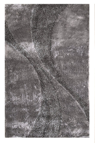 Silken Bella Collection Shag Area Rug - 7